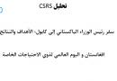 تحليل CSRS – الإصدار: 360 (01 ديسمبر 2020)