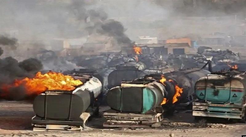 حدوث حريق في معبر إسلام قلعة الحدودي؛ الأسباب والنتائج