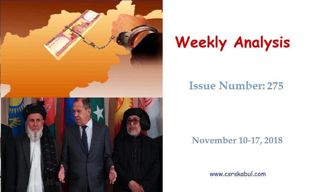 Weekly Analysis – Issue Number 275 (Nov 10-17, 2018)