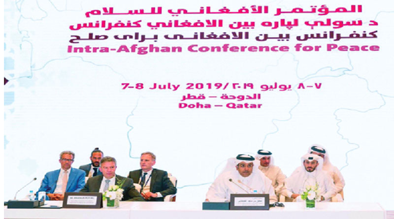 Afghan Peace and meeting between Afghans in Doha