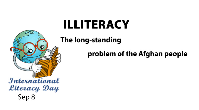 Illiteracy The long-standing problem of the Afghan people