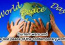Current wars and the lost peace of the contemporary world