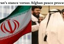 Iran's stance versus Afghan peace process
