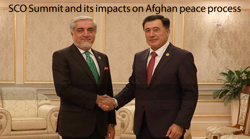 SCO Summit and its impacts on Afghan peace process