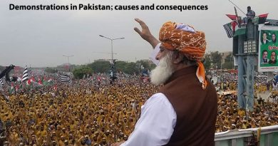 Demonstrations in Pakistan; causes and consequences