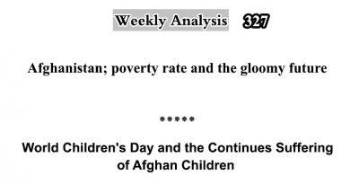 Weekly Analysis-Issue Number 327 (November 27, 2019)