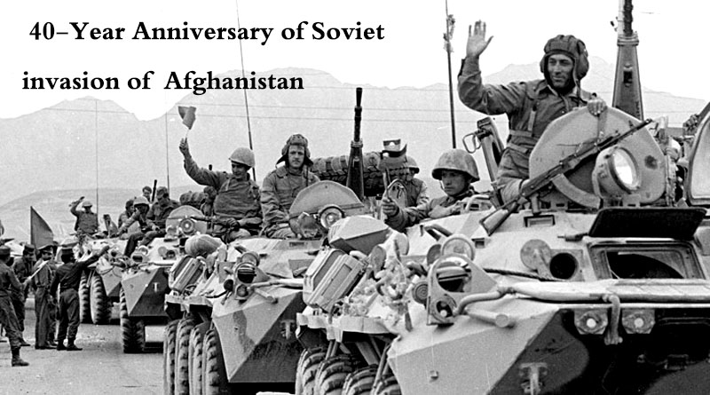 40-Year Anniversary of Soviet invasion of  Afghanistan