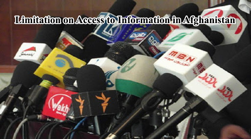 Limitation on Access to Information in Afghanistan