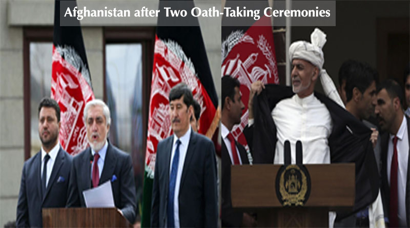 Afghanistan after Two Oath-Taking Ceremonies