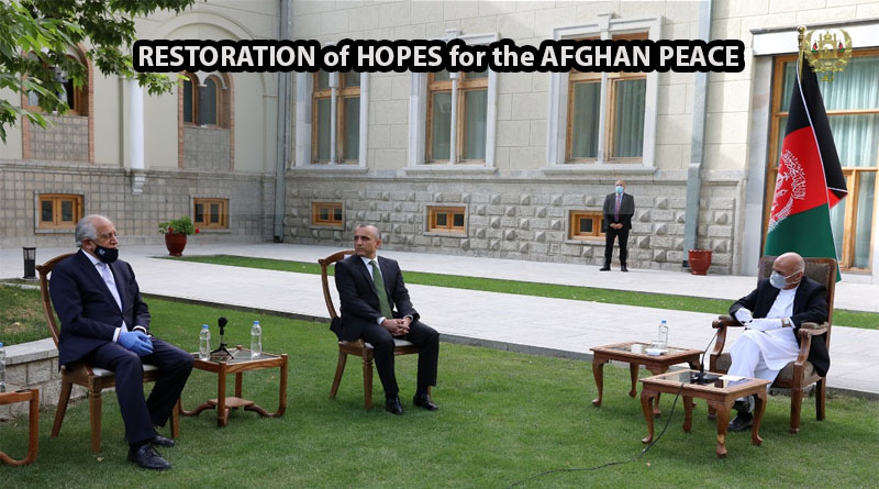 RESTORATION of HOPES for the AFGHAN PEACE