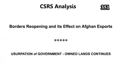 CSRS Analysis – Issue Number 351 (04 July 2020)