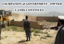 USURPATION of GOVERNMENT – OWNED LANDS CONTINUES