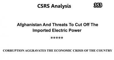 CSRS Analysis – Issue Number 353 (08 Aug 2020)