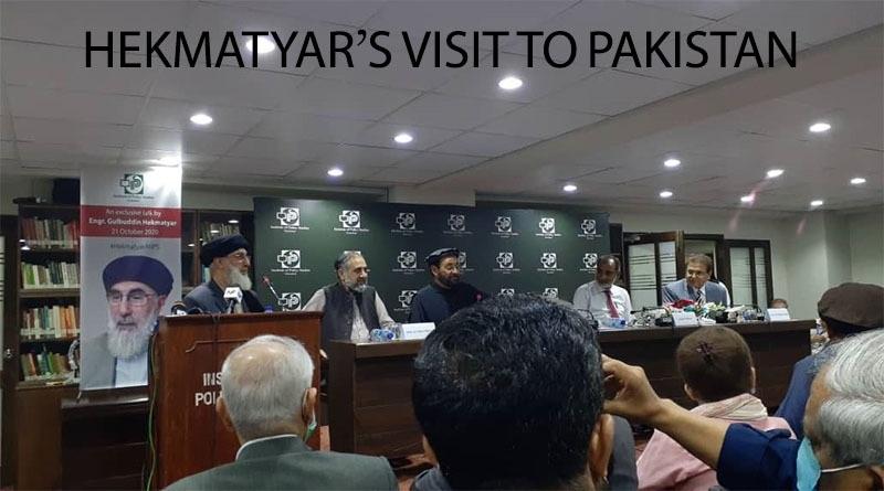 HEKMATYAR'S VISIT TO PAKISTAN