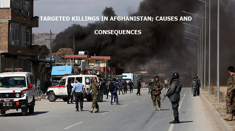 TARGETED KILLINGS IN AFGHANISTAN; CAUSES AND CONSEQUENCES