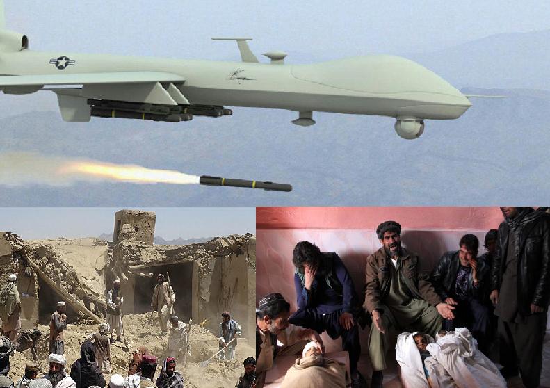 تداوم حملات هوایی کورکورانه در سایۀ سکوت حکومت وحدت ملی