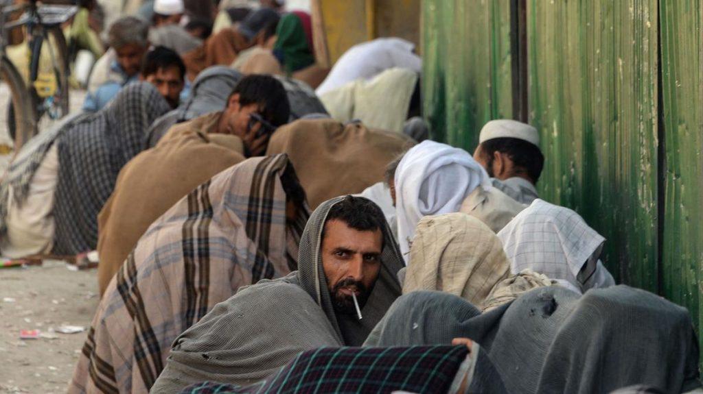 په افغانستان کې د روږدو کسانو وضعیت