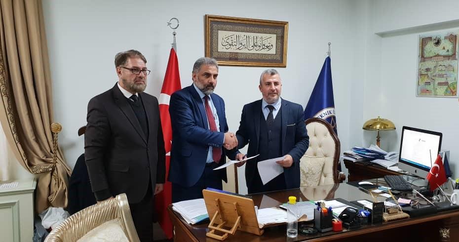 د CSRS-کابل او ESAM-استانبول ترمنځ د دوهاړخيزو همکاريو هوکړهليک لاسليک شو