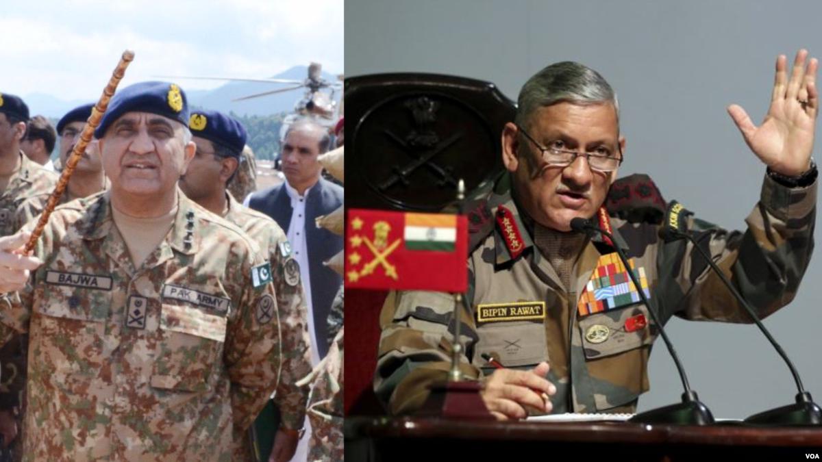 د پاکستان – هند ترمنځ تاوتریخوالی او پر سیمه یې اغېزې